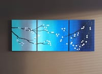 Three stage canvas painting Chestermere, T1X 1T5