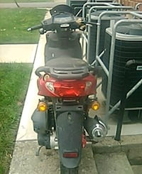 black and red gas scooter for parts Columbus, 43215