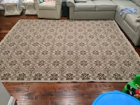 10 x 8 ft  Arhaus Rug just recently professionally cleaned Burke, 22015