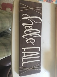 Hand made sign from refurbished wood. Greenville, 29605