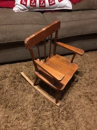 Toddler Wood Antique Rocking Chair Tulare, 93274