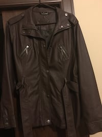Brown Leather Like Jacket Sioux Falls, 57110