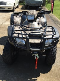 Factory camouflage honda atv-ready for fall&winter hunt& other activities. Just in time for Christmas.