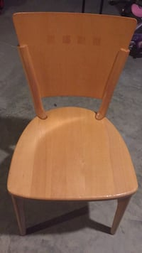 Brown wooden windsor armless chair Des Moines, 50322