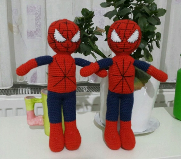Used Amigurumi Spiderman for sale in Muratpaşa - letgo | 527x600