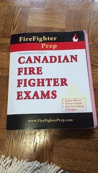 Firefighter prep canadian fire fighter exam book King, L7B 1G2
