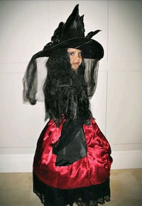 Gothic Witch Halloween Costume