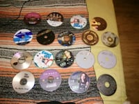 18 various dvd and cd discs  Tucson, 85716