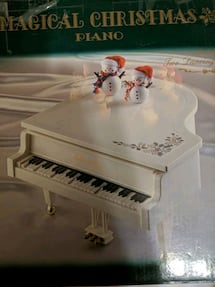 Vintage Musical piano
