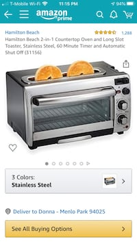Toaster oven 2 in 1