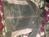 gray and white zip-up hoodie Hamilton, L8L