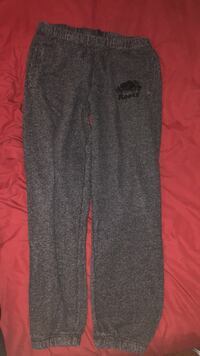 Roots Sweatpants (Salt & Pepper) Men's Med.