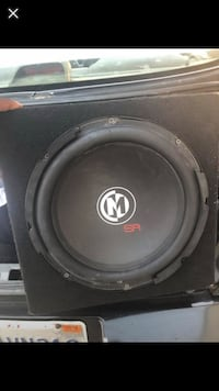 black and gray Memphis subwoofer speaker Long Beach, 90805