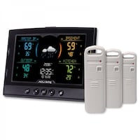 cuRite Home View Environment Monitoring Center with 3 Sensors Model #06024MAI Toronto