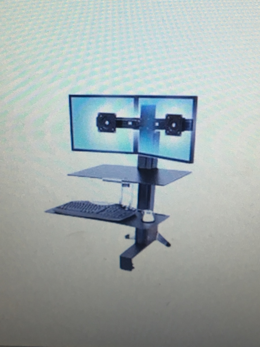 Used Standing Workspace For Dual Monitor In Bloomfield