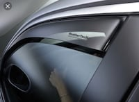 WeatherTech Rain Guards Ford Focus