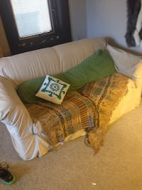 Couch with cover