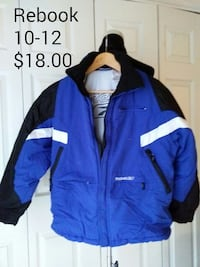 Rebook jacket size 10-12 great condition