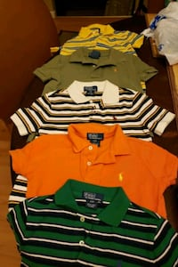 Ralph lauren polo shirt 5 for $30... Camden