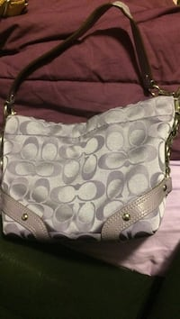 Real coach purse used once