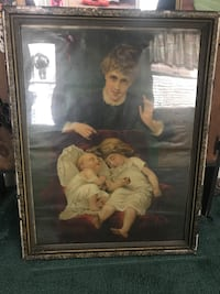 3ft high 2ft wide Antique picture