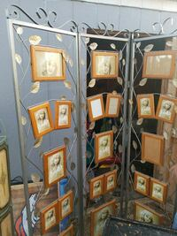 gray metal framed brown photo frames Greeley, 80631
