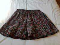 women's red and black floral skirt Halifax, B3L 1J9