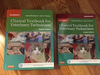 Clinical Textbook for Veterinary Technicians plus Workbook Albany, 12205
