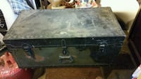Military foot trunk dated 1948 New Lenox, 60451