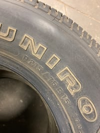 UNIROYAL Cross Country M/S Tires 215/75R15 (2) only Calgary, T2H 2W4