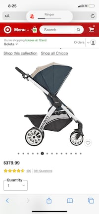 Brand new bravo stroller with tags