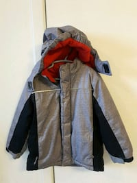 gray and red zip-up hoodie Laval, H7W 2W7