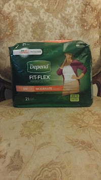 Depend Fit-Flex pads pack Hamilton, L8K 2K1