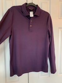 MICHAEL KORS New with tags Men's long sleeve soft polo shirt!! Size M Chantilly, 20152