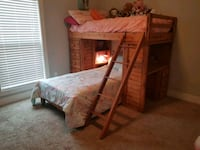 Bunk bed with shelves and desk Murfreesboro, 37128