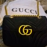black and red Gucci leather backpack Pasadena, 21122