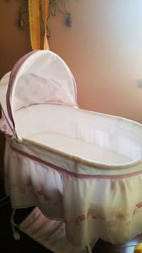 baby's white bassinet Gilroy, 95020