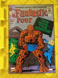 Marvels Fantastic Four Wooden Wall Art Daly City