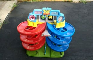 Toy story racing track