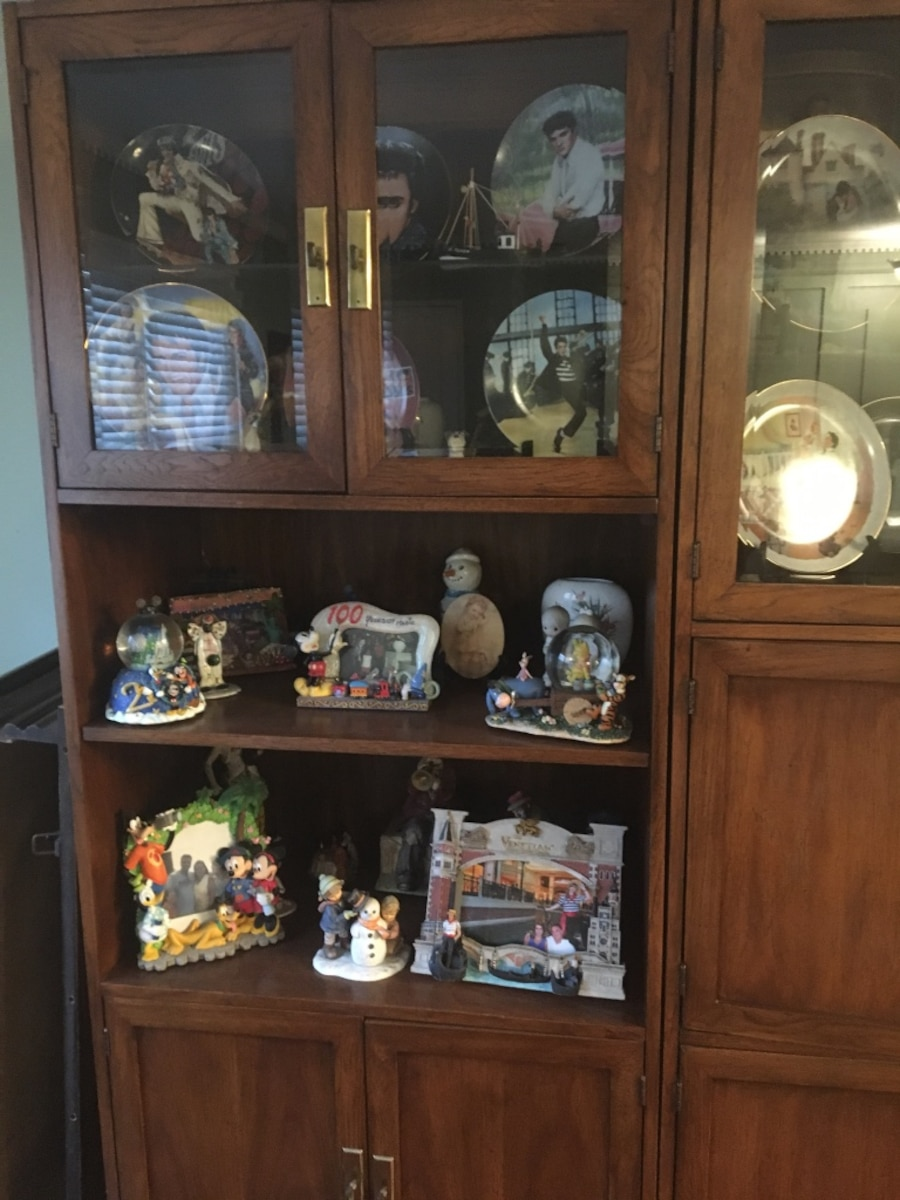 Brown Wooden Wall Unit In New York Letgo