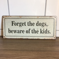 Beware of the kids!