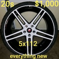 New 20s & new tires. You see the add so they available  Charlotte