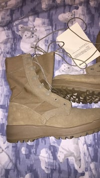 Shoesmilitary army women boots size 7.5 Everett, 02149