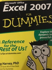 Dummy for Excel 2007. For $30