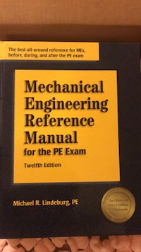 mechanical Engineering Reference Manual 12th Ed Vancouver, 98662