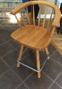 """Have two bar stools 24"""" height $25.00 each. Message me if interested"""