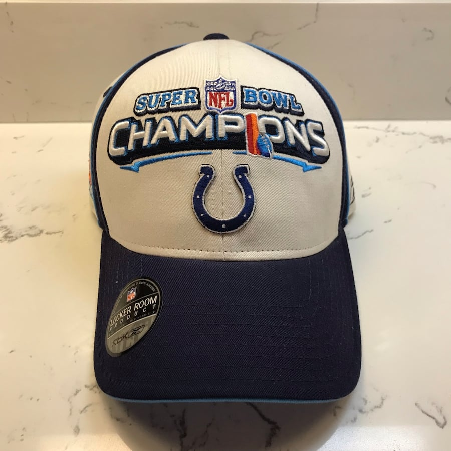 Indianapolis Colts Super Bowl XLI Hat - perfect condition w/ stickers