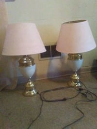 two white and gray table lamps Philadelphia, 19143