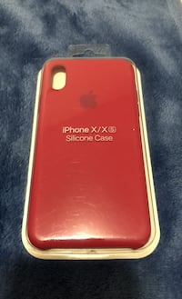 iPhone X/xs silicone case