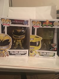 Yellow power ranger . Funko pop  Winnipeg, R3E 3G1